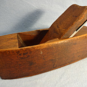 SALE Wooden Smoothing Plane, Hardwood, Coffin shaped