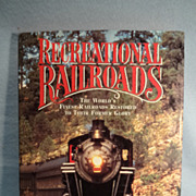 SALE Recreational Railroads by Arthur T. H. Tayler--Railway Book