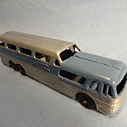 SALE Vintage TootsieToy die cast Greyhound Scenicruiser