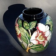 Beautiful Moorcroft Ginger Jar WM Signed