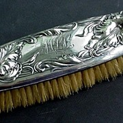 Art Nouveau Silverplate Brush Beautiful!!