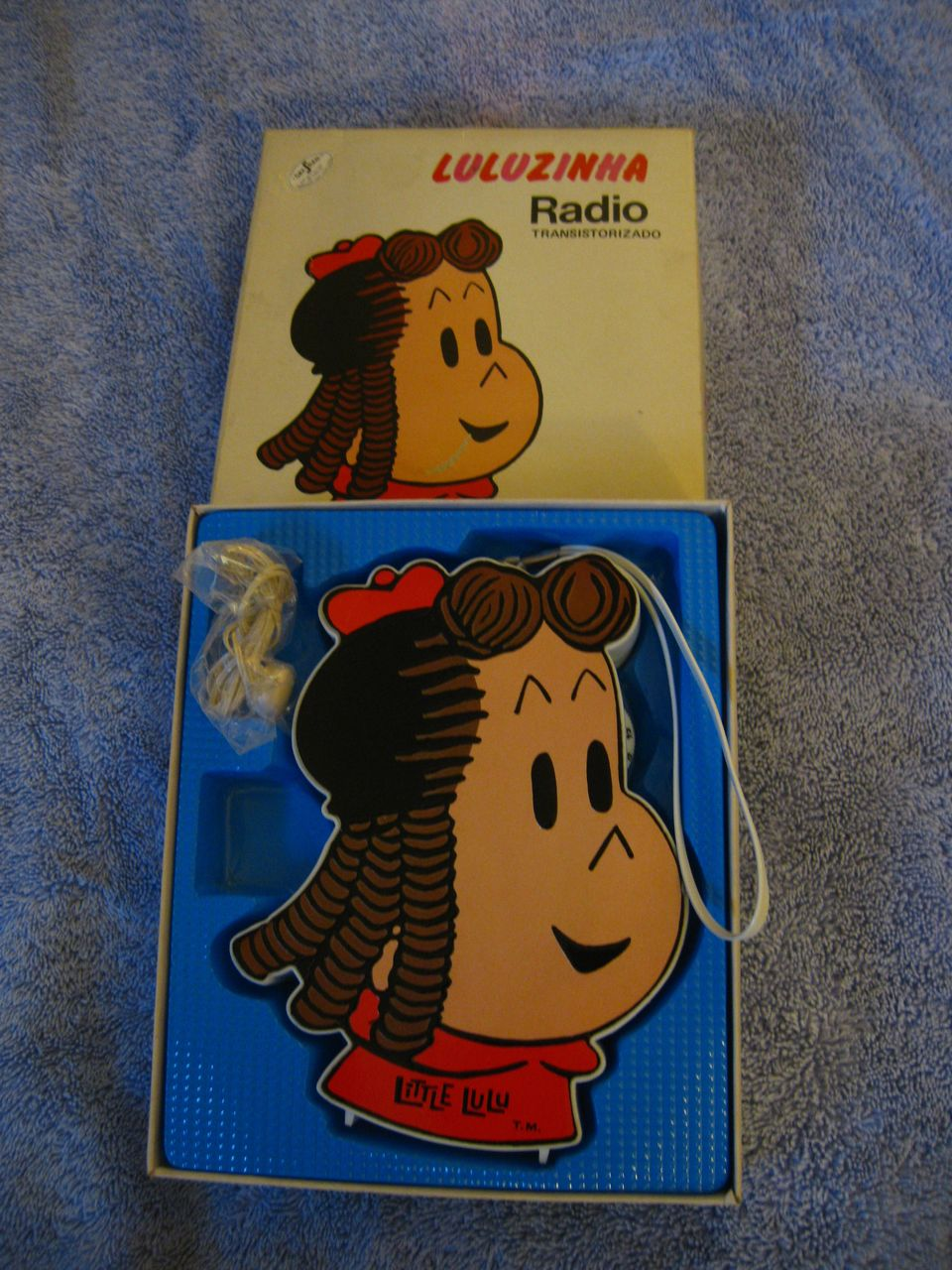 Vintage Little Lu Lu Radio