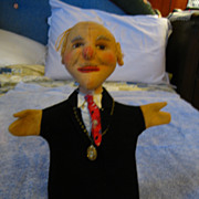 "Kersa Cloth Puppet  "" The Mayor"""