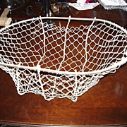 SALE Antique Vegetable Harvest Hand Made Wire Basket