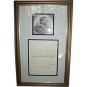 SALE 1871 Ulysses S. Grant signed Presidential Pardon