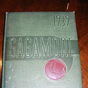 SALE 1939 Sagamore Yearbook