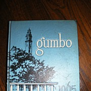 1965 LSU Louisiana State University Gumbo Yearbook