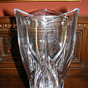 Genuine Jaffa Crystal Large Normandy Vase