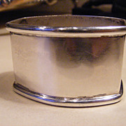 .800 Silver Napkin Ring