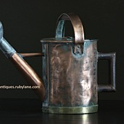 19th Century English Copper Gardener�s Watering Can