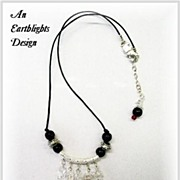 Sterling Silver & Quartz Necklace - Africa Collection