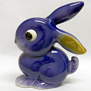 Darling Vintage Goebel Violet-Blue Bunny Rabbit