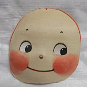 1920's Rose O'Neill  Mask Face for Cloth Kewpie