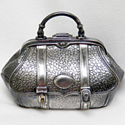 Wilcox Silverplated Doctor's Bag Trinket Box