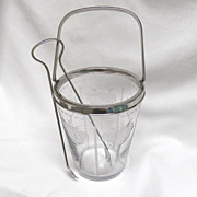 Hawkes Cut Glass Ice Bucket