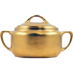 "ca 1912-18 Pickard China ""All Over Gold"" glazed Sugar Bowl"