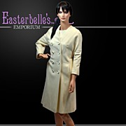 SALE PENDING Stylish I. Magnin Matching Classic Coat and Dress Set