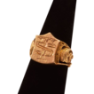 14K Gold Signet Ring, Very Handsome with &quot;TS&quot; Initials