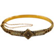 15K Solid Gold Etruscan Revival Bracelet in Original Box