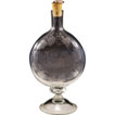 Magnificent Antique Austrian Glass Decanter With Latin Inscription