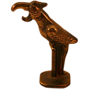 Quirky Brass Vintage Parrot-Shaped Bottle Opener