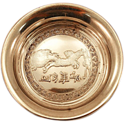 Gorgeous 1931 Hallmarked Sterling Silver Reed & Barton Dish with Dragon