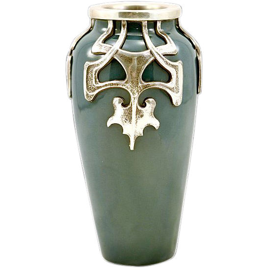 antique pewter vases | eBay
