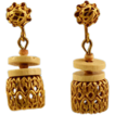 "Miriam Haskell Filigree ""Basket"" Earrings"