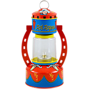 Nostalgic Roy Rogers Battery-Powered Tin Lithograph Lantern in Original Box