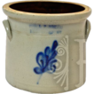ca 1861-81 E & LP Norton Vermont Stoneware Crock