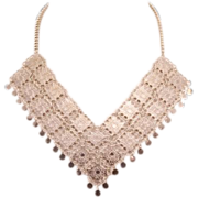 Sensational Vendome Runway Bib Necklace