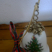 2000 Spode Christmas Bell in Original Package