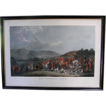 Antique Print: The Wynnstay Hunt engraved by W. T. Daley, 19th c.