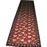 SALE Carpet Runner by Stark Co Vintage 2 x 10 feet