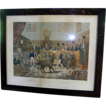 Antique print, Trial of Bill Burn, cruelty to animals,  Animal right's legislation 1838