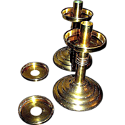 SALE Brass Candlesticks, Sudbury Co., since 1927