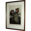 Vintage print, chronograph-lithograph, The Pet, framed by David Brenndan Fine Art Studios, c.1900