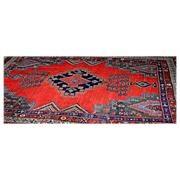 Hamadan Rug Semi-Antique 72x54&quot;