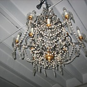 Antique 19th Century Italian Chandelier