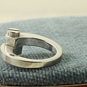 Estate 18K Cartier Love Bypass Ring