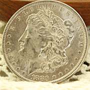 1883 'O' Morgan Silver Dollar