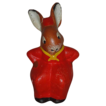 Hilarious Vintage German Mrs. Rabbit Easter Decoration