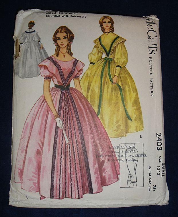 mccalls costume pattern - ShopWiki