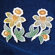 SALE Look at These Fabulous Daffodil Appliques!