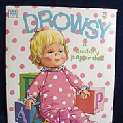 SALE Drowsy Paper Dolls By Whitman-Uncut, Excellent