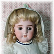 SALE Pretty, Sweet Simon Halbig Doll-1078