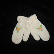 SALE Darling Little Doll Mittens-Kitten Soft
