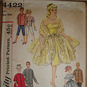 SALE Genuine 1950's Barbie & Ken Wardrobe Pattern
