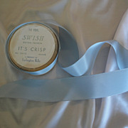 SALE Very Fine Swiss Taffeta Ribbon~Baby Blue