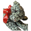 Wonderful Old Stuffed Leopard